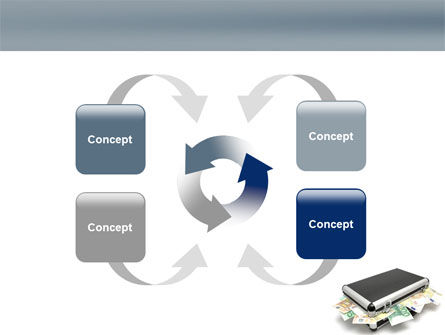 Euro Depository PowerPoint Template Slide 6