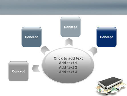 Euro Depository PowerPoint Template Slide 7