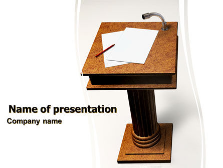Consulting: Tribune PowerPoint Template #05980