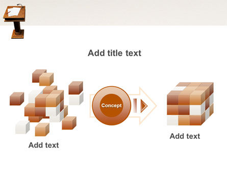 Tribune PowerPoint Template Slide 17