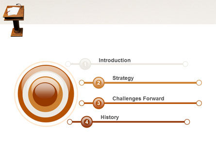 Tribune PowerPoint Template Slide 3