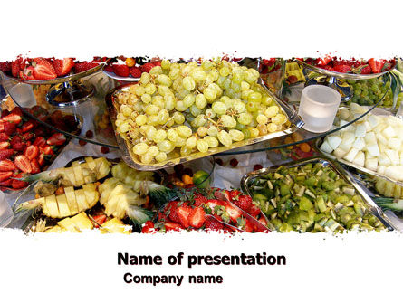 Food & Beverage: Exotic Fruits PowerPoint Template #05984