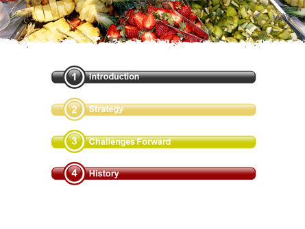 Exotic Fruits PowerPoint Template Slide 3