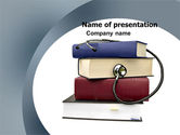 Medical: Medical Textbooks PowerPoint Template #05985