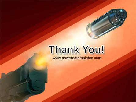 Pistol PowerPoint Template Slide 20