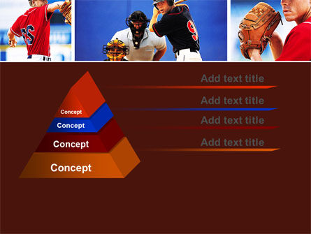 Baseball PowerPoint Template, Slide 4, 05988, Sports — PoweredTemplate.com