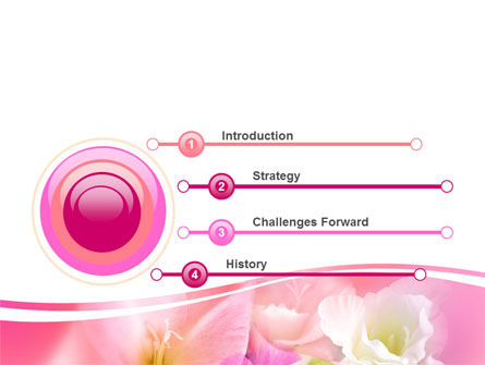 Summer Flowers PowerPoint Template Slide 3