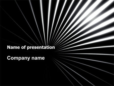 Abstract/Textures: Razor PowerPoint Template #05991