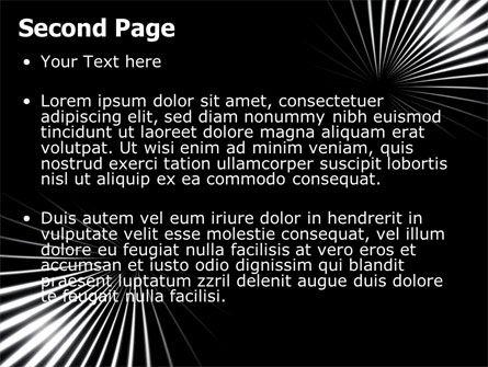 Razor PowerPoint Template, Slide 2, 05991, Abstract/Textures — PoweredTemplate.com