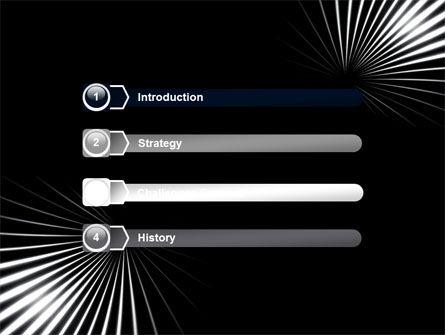 Razor PowerPoint Template, Slide 3, 05991, Abstract/Textures — PoweredTemplate.com