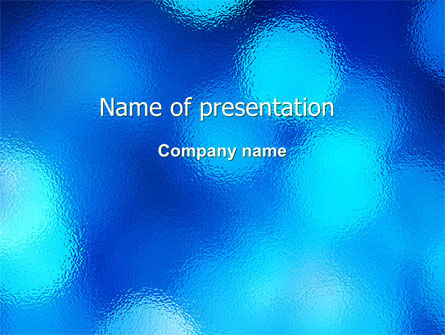 Blur PowerPoint Template, 05992, Abstract/Textures — PoweredTemplate.com