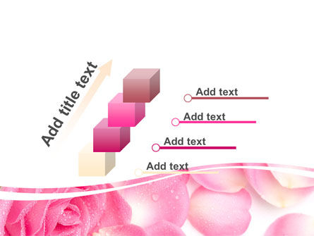 Rose Petal PowerPoint Template Slide 14
