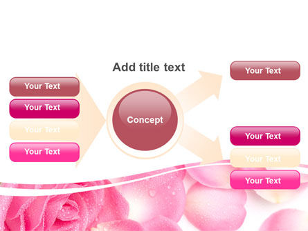 Rose Petal PowerPoint Template Slide 15