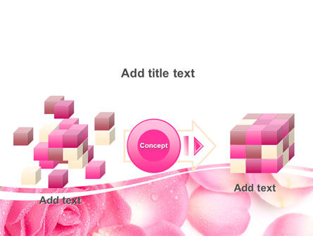 Rose Petal PowerPoint Template Slide 17