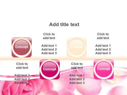 Rose Petal PowerPoint Template Slide 18