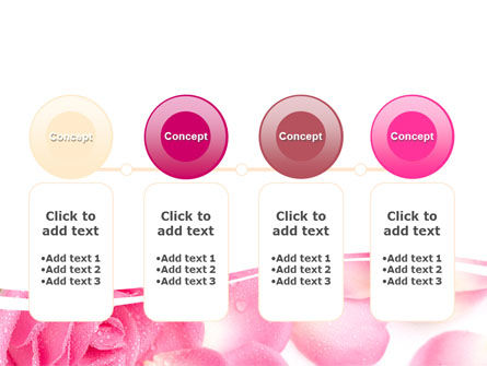 Rose Petal PowerPoint Template Slide 5