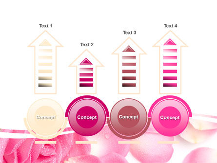 Rose Petal PowerPoint Template Slide 7
