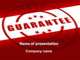 Business Concepts: Quality Seal PowerPoint Template #05994