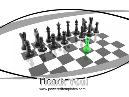 Chess Passed Pawn PowerPoint Template Slide 20
