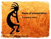 Art & Entertainment: Modèle PowerPoint de parti ethnique #05998