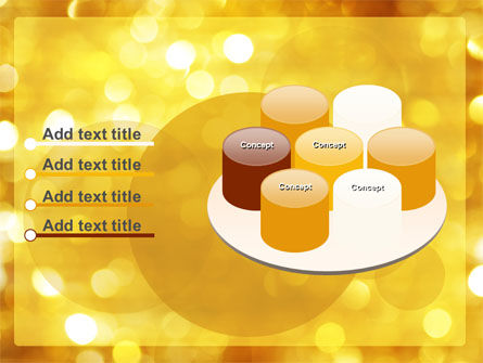 Yellow PowerPoint Template Slide 12