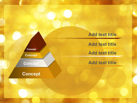 Yellow PowerPoint Template Slide 4
