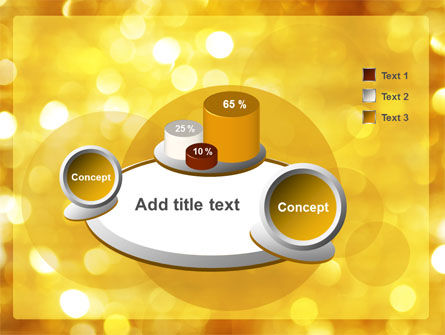 Yellow PowerPoint Template Slide 6