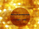 Abstract/Textures: Yellow PowerPoint Template #06000