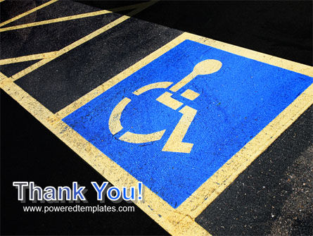Handicapped Persons Policy PowerPoint Template Slide 20