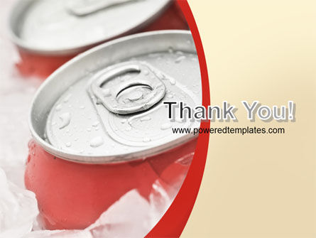 Soda Cans PowerPoint Template Slide 20