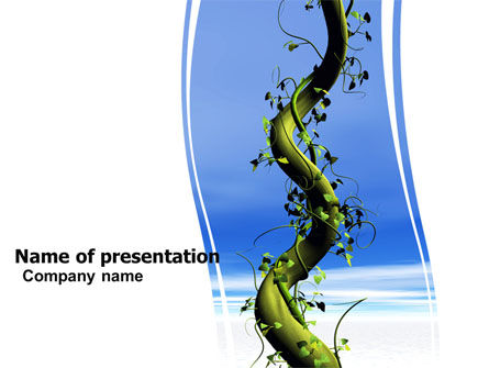 Loach Free PowerPoint Template, 06004, Nature & Environment — PoweredTemplate.com
