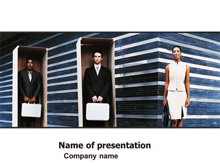 Consulting: Living In A Box PowerPoint Template #06005