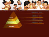 Happy Family Portrait PowerPoint Template#4