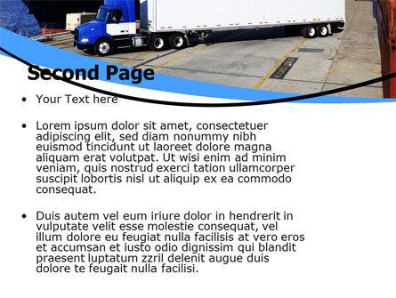 Seaport PowerPoint Template Slide 2