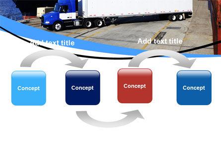 Seaport PowerPoint Template, Slide 4, 06007, Cars and Transportation — PoweredTemplate.com