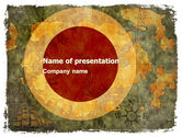 Global: Ancient Map PowerPoint Template #06009