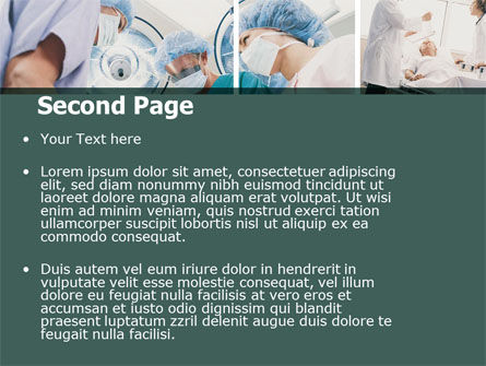 Surgery Room PowerPoint Template, Slide 2, 06011, Medical — PoweredTemplate.com