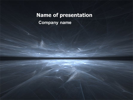 Abstract Space PowerPoint Template, 06016, Abstract/Textures — PoweredTemplate.com