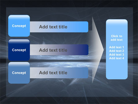 Abstract Space PowerPoint Template Slide 12