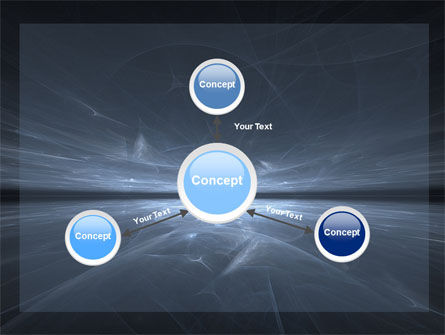 Abstract Space PowerPoint Template Slide 14