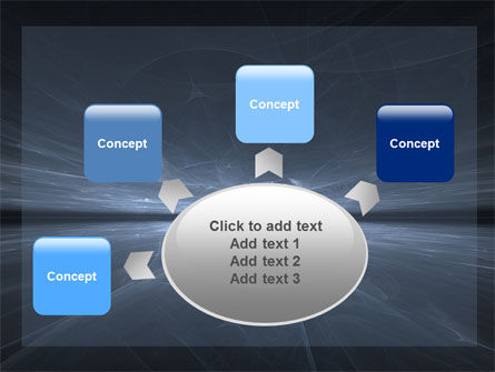 Abstract Space PowerPoint Template Slide 7