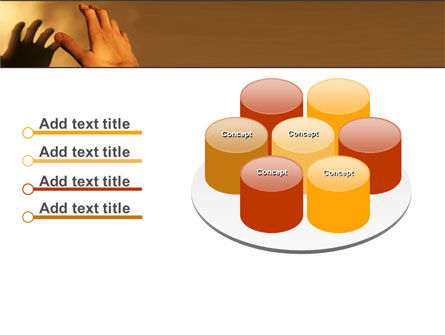 Reaching Hand PowerPoint Template Slide 12