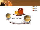 Reaching Hand PowerPoint Template#6