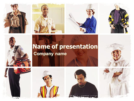 Professions PowerPoint Template