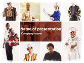 People: Professions PowerPoint Template #06018