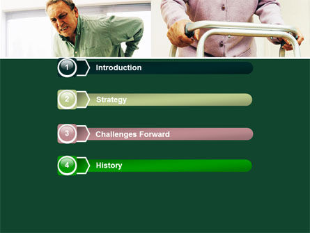 Rheumatism PowerPoint Template, Slide 3, 06020, Medical — PoweredTemplate.com