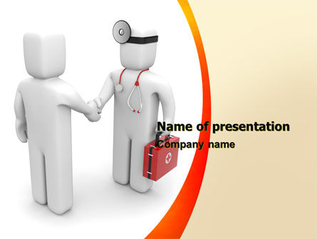 Patient and Doctor PowerPoint Template