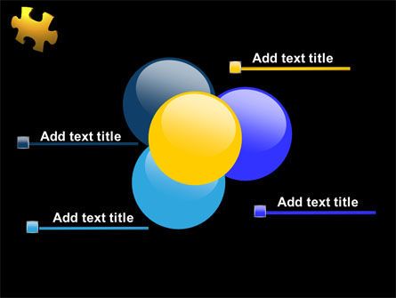 Yellow Puzzle PowerPoint Template Slide 10