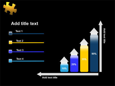 Yellow Puzzle PowerPoint Template Slide 8