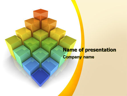 Terraced Stages PowerPoint Template